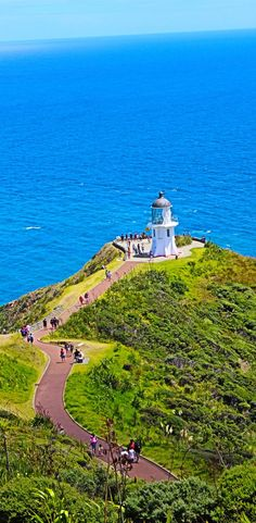 Cape Reinga is the Northern most point of New Zealand