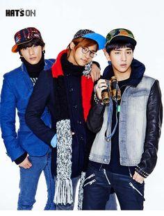 GongChan, C.NU & Baro