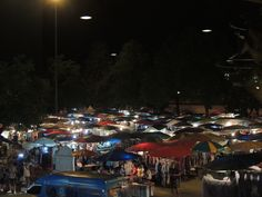 Night Market, Chiang Mai, Thailand. Been there, done that.