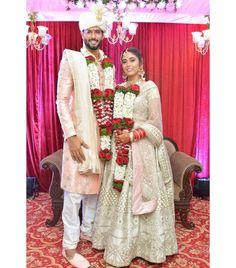All About Cricketer Shivam Dube's Wedding With Anjum Khan Nikah Ceremony, Wedding Ceremony, Low Key Wedding, Wedding Rituals, Wedding News, Sweet Couple, Bridesmaid Dresses, Wedding Dresses, Intimate Weddings