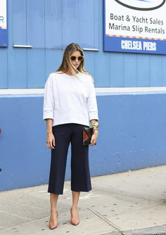 much ado about culottes. NYC. #LeeOliveira