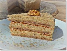 Diós almatorta. (avagy Magyarország cukormentes tortája újragondolva) 2012 Healthy Cake, Healthy Recipes, Sweet Bread, Vanilla Cake, Bread Recipes, Sweet Recipes, Banana Bread, Dessert Recipes, Food And Drink