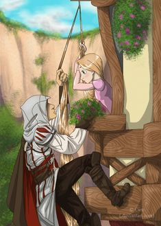 Tangled & Assassin's Creed.