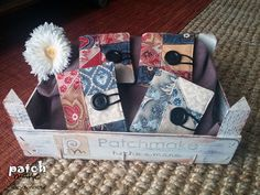 Patchmake. Blog de patchwork: Libritos guarda agujas