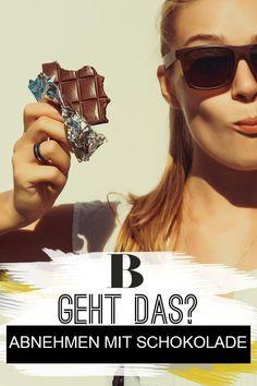 Abnehmen mit Schokolade: Zu schön, um wahr zu sein? Du willst aus deiner Schwäche für Süßes eine Stärke machen? Wir verraten dir, ob das Abnehmen mit Schokolade funktioniert. #schokolade #abnehmen #diät Atkins, Sunglasses Women, Projects, Sugar Free Chocolate, Hay Diet, Handy Tips, Metabolism