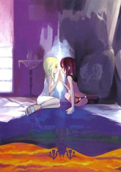 Namine and Kairi