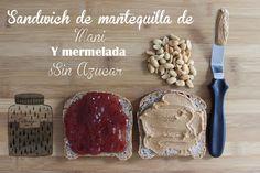 SNACKS SALUDABLES: PBJ SANDWICH pbj sandwich, snack salud