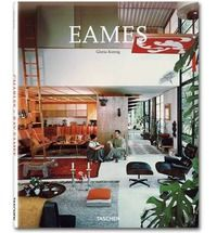 Though they are best known to the general public for their furniture, the husband and wife duo of Charles and Ray Eames (1907-78 and 1912-88, respectively) were also forerunners in the fields of architecture, industrial design, photography, and film. This book covers various aspects of their illustrious career.