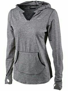 Simple Grey Nike Light Hoodie