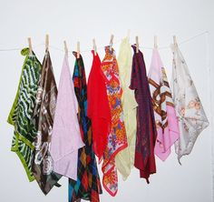Vintage Scarf Groovy to Traditional Lot of by CheekyVintageCloset, $28.00