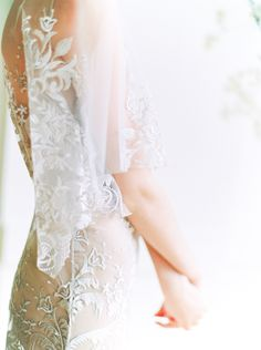 The Elle Gown, a gorgeous sheath lace wedding with flutter sleeves for the romantic bride.The lace details of gown, the organic backdrop from the soft yet strong look from and created for Scanned by Wedding Dress Shopping, Boho Wedding Dress, Wedding Dresses, Lace Wedding, Bride Look, Boho Bride, Vancouver, Destinations, Dress Plus Size