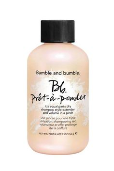 $27, sephora.comSmall package, big hair: This Bumble and Bumble powder dry shampoo pumped up the vol... - Mike Garten