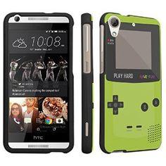 Amazon.com: DuroCase ® HTC Desire 626s / HTC Desire 626 (Released in 2015) Hard Case Black - (Gameboy Green): Cell Phones & Accessories