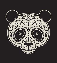 "Visual Graphc: Photo panda meets mexican's ""Día de muertos"""