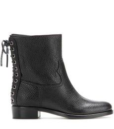 Miu Miu - Textured leather boots - mytheresa.com