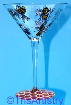 Bee Martini by TrisArtistry www.TrisArt.net