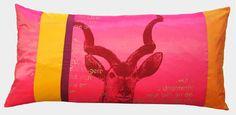 Siebdruck, Kissen Hand screen printed pillow Panama