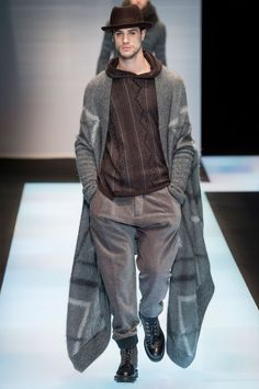 Giorgio Armani Goes the Way of the Beat Generation for Fall