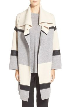 Vince Colorblock Car Coat Sweater available at #Nordstrom