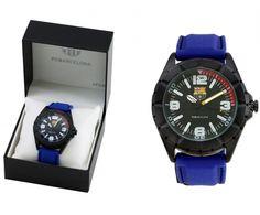 FCBarcelona Reloj Pulsera Elegante - Reloj de pulsera caballero del  FCBarcelona con correa de silicona presentado en estuche personalizado con  los colores ... af15a577f357