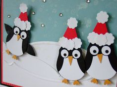 Furry Tale Cards and Crafts: Penguin Party