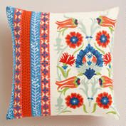 Embroidered Istanbul Throw Pillow- World Market