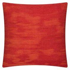 Orange and Red Cushion | Colours for Autumn | ColourPuff.com