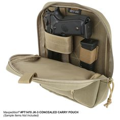 Fast opening concealed carry belt pouch, for full size pistols The Concealed Carry Pouch is an excellent, discreet alternative to a belt holster. It will fit a full size handgun plus a si Tactical Belt, Tactical Backpack, Concealed Carry Belt, Pistol Holster, Belt Pouch, Hip Bag, Survival Gear, Firearms, Carry On