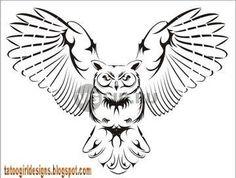 Tribal Owl Tattoos   Owl Tattoo Designs