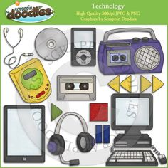 Technology Clip Art Download