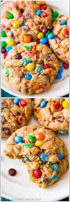 Chewy M&M Oatmeal Cookie | Delicious Lactation Cookies Recipes That Actually Work | Lactation Cookies Recipe | Increase Breastmilk Supply Fast | https://theabsoluteparent.com/lactation-cookies-recipes/