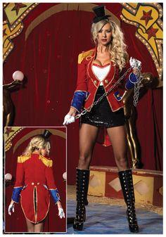 Ringmaster/ Ringleader costume inspiration!