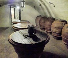 once a dungeon nowadays a wine cellar