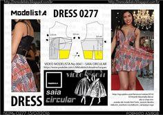 ModelistA: A3 NUMo 0277 DRESS