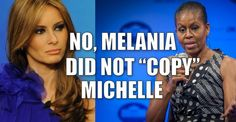"""Michelle Obama – The Only Person on Planet Earth With """"Values, Hard Work, and Respect"""" - 7/19/16"""