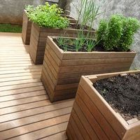 Planter Boxes, Planters, Yard, Gardens, Swiming Pool, Woodwind Instrument, Balcony, Window Boxes, Patio