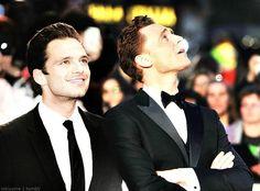 Sebastian Stan & Tom Hiddleston