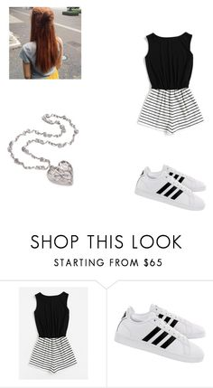 """""""Ginny train outfit"""" by rebeccac-i ❤ liked on Polyvore featuring adidas"""