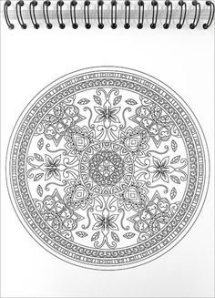 Mandalas Coloring Book Unboxing In Action To Color Is The Second Title