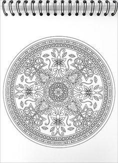 Coloring Books - Mandalas To Color Illustrated By Terbit Basuki