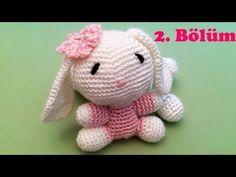 Amigurumi Örgü Oyuncak Tavşan Yapımı - 2 - YouTube