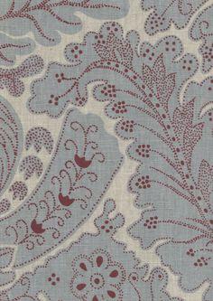 A fine linen print, using the same artwork as our popular Nantes design. Aqua Bedding, Fabric Birds, Vintage Home Decor, Vintage Style, Gemstone Colors, Slipcovers, Damask, Rose Quartz, Bohemian Rug