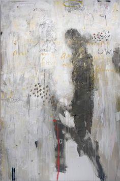 "neutralnotes:    Karen LaBorde  ""Remember Me"", mixed media on canvas, 60 x 40"