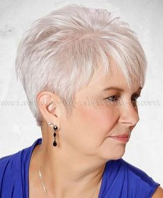 View 4 of 20 photo about short hairstyles over 50 - short hairstyle for gray hair Short Hair Over 60, Short Hairstyles Over 50, Short Thin Hair, Short Hair Older Women, Short Grey Hair, Haircut For Older Women, Haircuts For Fine Hair, Very Short Hair, Short Haircuts