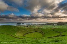 Pico da Joana - Landscape, Azores, Portugal by Luis Godinho
