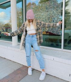 Cute Comfy Outfits, Stylish Outfits, Simple Outfits, Teen Fashion Outfits, Outfits For Teens, Fall Winter Outfits, Summer Outfits, Teen Fashion Winter, Mom Jeans Outfit
