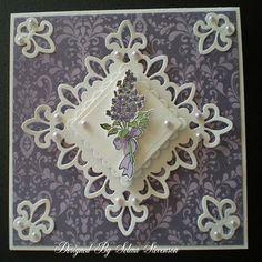 Selma's Stamping Corner: Lavender Lace