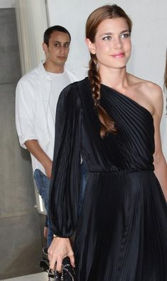 Charlotte Casiraghi Photos - Charlotte Casiraghi and Alex Dellal attend the 'Hogan And Big Bambu' Cocktail Party during the International Art Biennale on June 2011 in Venice, Italy. - Hogan And Big Bambu Cocktail Party - International Art Biennale Charlotte Casiraghi, Andrea Casiraghi, Grace Kelly, Princess Charlotte Of Monaco, Albert Von Monaco, Beatrice Borromeo, Princesa Carolina, Mode Chic, Royal Fashion