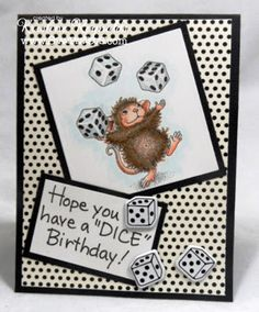 Stamping & Scrapping in California: More Birthday Mice