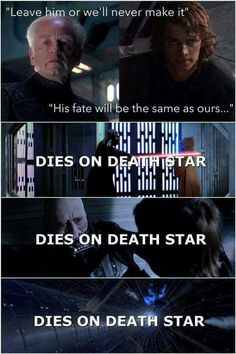 Wowwwwwwww amazing! #Fact #Wow #StarWars - Dies on Death Star -